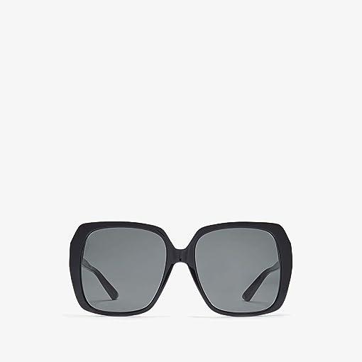 Shiny Black/Grey Solid