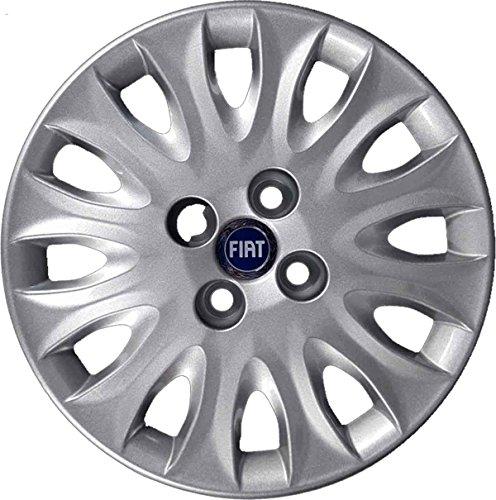 14 inch wieldoppen (38 cm) serie 4 voor Fiat Punto vanaf bouwjaar 1999, niet origineel