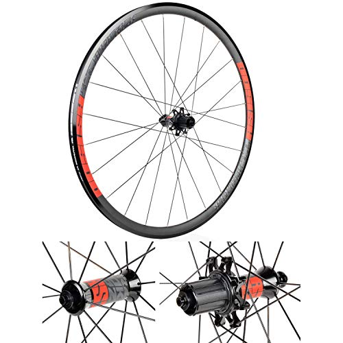 ZHTY Ruote da Ciclismo 700C, BMX in Lega di Alluminio Ruote per Bici da Strada Pinza Freno 30MM Alto cerchione per Bicicletta Cuscinetti sigillati Cuscinetti 32H Palin Rilascio Veloce