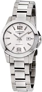 Longines Conquest Silver Dial Stainless Steel Ladies Watch L33764766