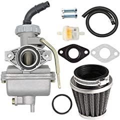 PZ20 Carburetor can Replacement for Chinese made 50cc 70cc 90cc 110cc 125cc kids ATV,Go-kart,Dirt Bike,Pocket Bike. PZ20 Carburetor Apply to Kazuma Baja 50cc 70cc 90cc 110cc 125cc TaoTao 110B NST SunL Chinese Quad 4 stroke ATV 4 wheeler Go kart Dirt ...