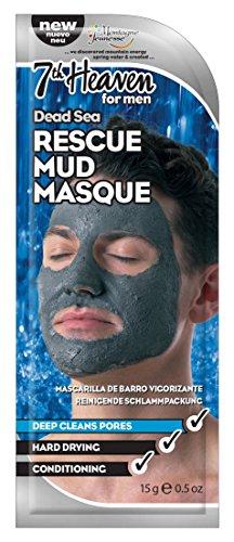Montagne Jeunesse Mascarilla Men's Dead Sea Rescue Mud Mask Barro Mar Muerto - 15 ml