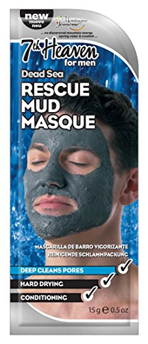 Montagne Jeunesse Men's dead sea rescue mud mask - barro mar muerto 21 g
