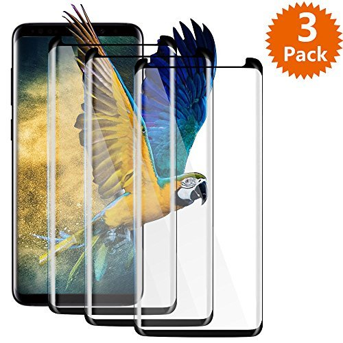 Samsung Galaxy S9 Plus Screen Protector, BlingFilm (3-Pack) Galaxy S9...