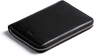 Bellroy Travel Folio (2 passports, 4-8 Cards, Boarding Passes, Cash and a Pen) - Black - RFID