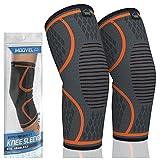 Best Knee Sleeves - MODVEL 2 Pack Knee Brace | Knee Compression Review