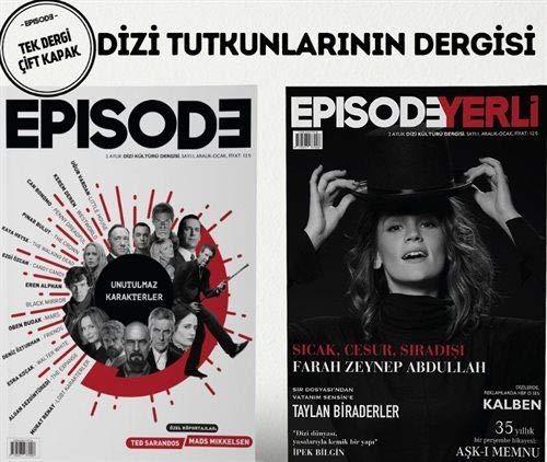 Episode İki Aylık Dizi Kültürü Dergisi Sayı: 1 Aralık-Ocak 2017