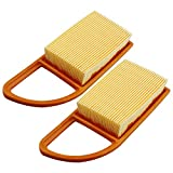 <span class='highlight'><span class='highlight'>LOCOPOW</span></span> Air Filter for Stihl BR500 BR550 BR600 Backpack Leaf Blower 4282-141-0300 4282-141-0300B (2 PC)