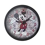 Mickey Mouse Reloj de Pared, Multicolor, Única