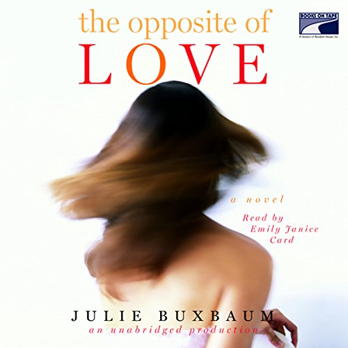 The Opposite of Love  audiobook cover art