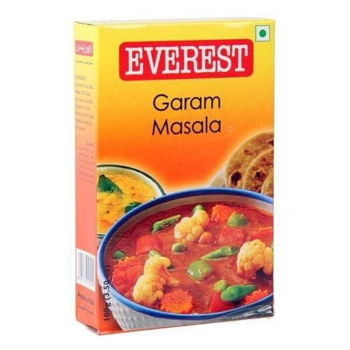 Everest Garam Masala 100g 3.50 Pack 3 oz of Max 49% OFF Safety and trust