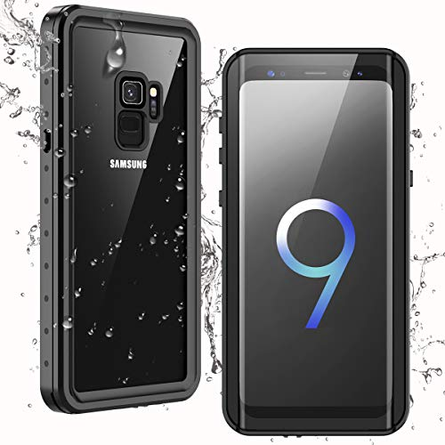 Temdan Waterproof Samsung Galaxy S9 Case,Clear Sound Quality Built-in...