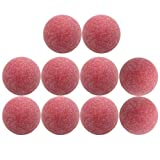 VORCOOL 10pcs 36mm Table Football Table Soccer Table Matte Indoor Sports Football Game Bolas Especiales Outdoor Props (Rosa)