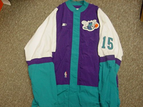 Corey Beck Charlotte Hornets Game Worn Jacket