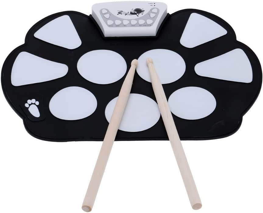 Konix Portable Electronic Roll up Foldable Kit Drum Ranking TOP9 Silicon Pad Today's only