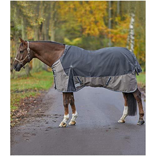 WALDHAUSEN Outdoordecke Comfort Line, Fleece, anthrazit, Rückenlänge 125 cm