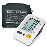 LotFancy Upper Arm Blood Pressure Monitor, 4-Users, 120 Memory, Fully...