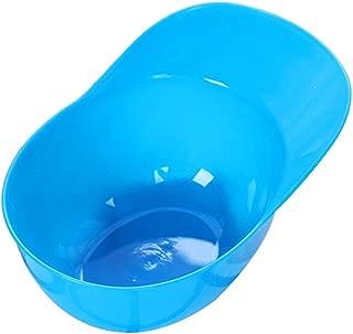 Qinlee Helmet Ice Cream Sundae Mini Batting Helmet Ice Cream Snack Bowls Great for Cream Brulee, Ice Cream, Snack and Condiment (Blue)