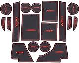 MISSLYY Ranura De La Puerta del Coche Alfombrilla De Goma para Mitsubishi ASX 2019 2020, Auto Copa Felpudo Groove Cojines Alfombrilla A Prueba De Polvo Interiores Antideslizantes Mats Accesorios