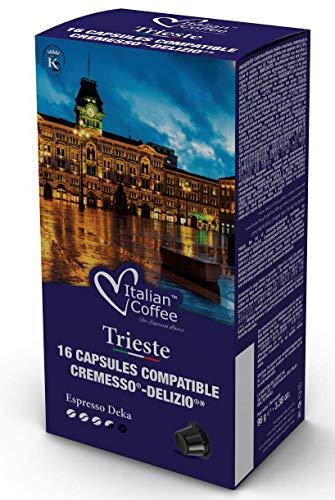 96 Cápsulas Cremesso® Delizio® Compatibles Descafeinado