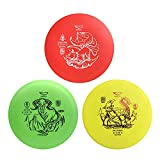 Yikun Disc Golf Starter Kits 3 in 1 | Includes Driver, Mid-Range and...