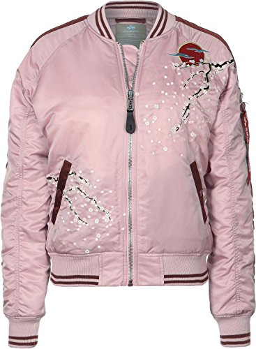 Preisvergleich Produktbild Alpha Industries MA-1 Souvenir Damen Jacke Rosa XS