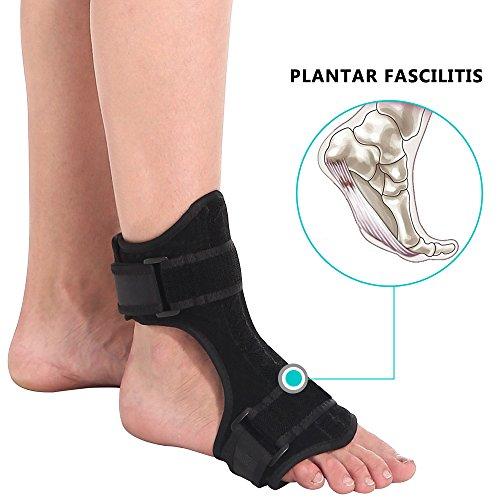 PHASFBJ Tobillera Soporte, Tobillera Ajustable con Estabilizadores Laterales Elástico Envuelve el Tobillo para la Recuperación de Lesiones Artritis Tendinitis Transpirable