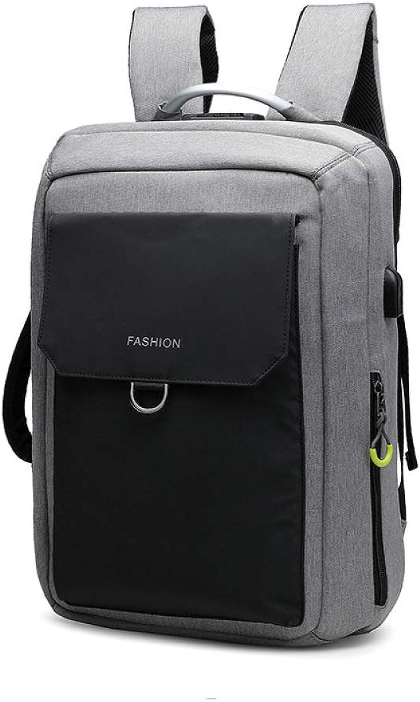 QWKZH Herren Tasche Diebstahlsicherung Rucksack Computer Tasche Business Casual Rucksack Handtasche