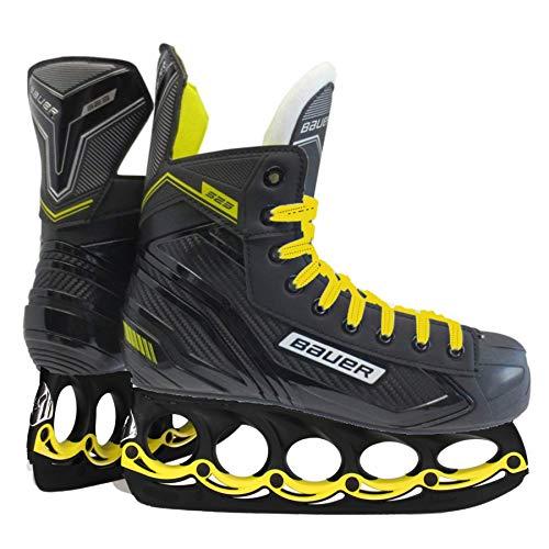 t-blade Schlittschuhe Bauer Yellow Supreme S23 Senior Eishockey Schuhe (43)