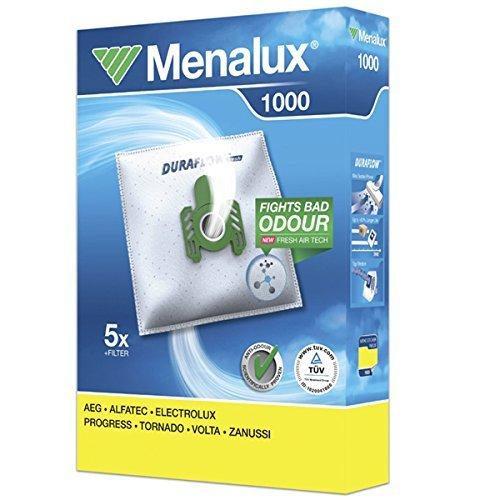 MENALUX 1000+1 FILTER,5xSTAUBBEUTEL AEG VAMPYR CE 100 bis 999,CE 2000 bis2999,CE 5.1700