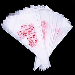 Crazydeal Hot 100Pcs Disposable Icing Piping Cake Pastry Tip Cupcake Decorating Bags Tool