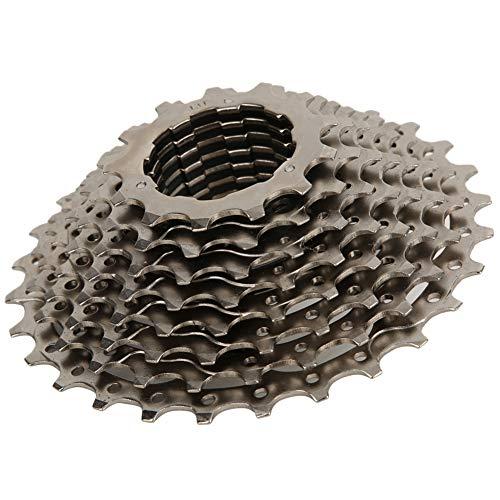 Alomejor1 Fahrrad Freilauf 10-Fach 11-28T Stahl Schwungrad Hohl Design Freilauf Zubehör für Rennrad