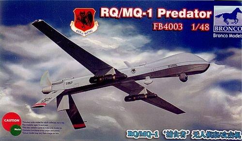 Unbekannt Bronco Models FB4003–Model Kit Rq/MQ 1Predator