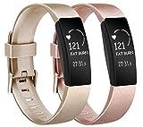 Amzpas Compatible para Fitbit Inspire Correa & Inspire HR Correa, Soft Deportes Pulseras Reemplazo...
