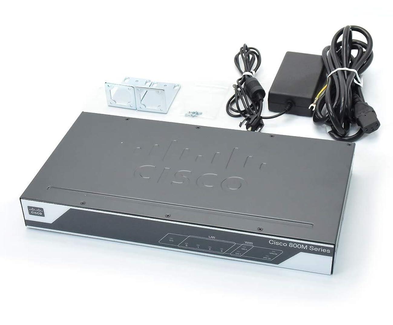 【中古】 Cisco C841M-4X-JAIS/K9 V01 WAN 2ポート1000BASE-T LAN 4ポート1000BASE-T C800M-UNIVERSALK9-M Ver.15.5(3)M 設定初期化済