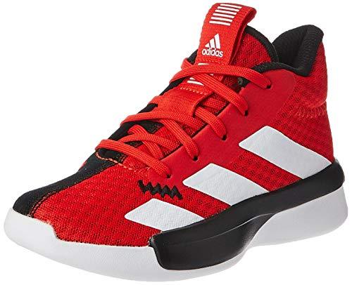 adidas Pro Next 2019 K, Zapatillas de Baloncesto Unisex Niño, Multicolor (Rojact/Ftwbla/Negbás 000), 33 EU