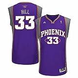 adidas Grant Hill Phoenix Suns NBA Men's Purple Replica Jersey (M)