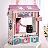 Olivias Little World 18 Zoll Puppe wandelbar Holz Spielhaus 4-in-1 TD-12641C -