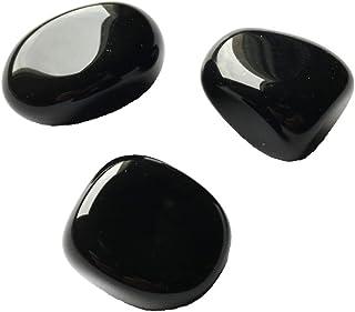 Pierre roulée Obsidienne noire - entre 2cm et 5cm
