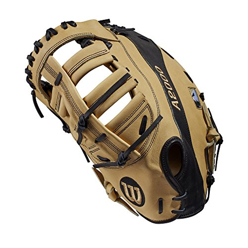 Wilson A2000 12-Inch SuperSkin Baseball Glove, Blonde/Black, Right (Left Hand Throw)