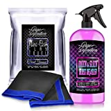 Pure Definition Clay Cloth and Lube Car Detailing Kit, High Mirror Gloss Finish