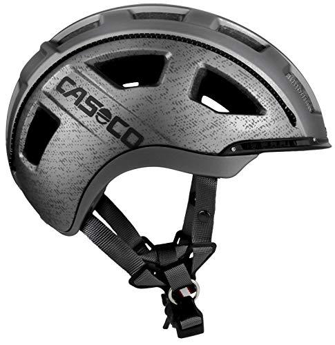 Fahrradhelm 2204, Unisex, für Erwachsene S grau
