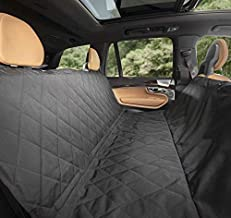 Plush Paws Products Hammock Waterproof Luxury Car Seat Cover with Pet Harnesses, Regular (Black) -USA Based