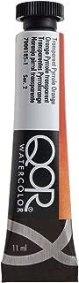 QoR Watercolor 11ml Transparent Pyrrole Orange