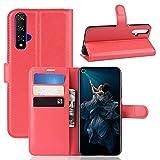 Lapinette Etui Compatible avec Huawei Nova 5T - Housse Protection Portefeuille Folio - Eui Simili...