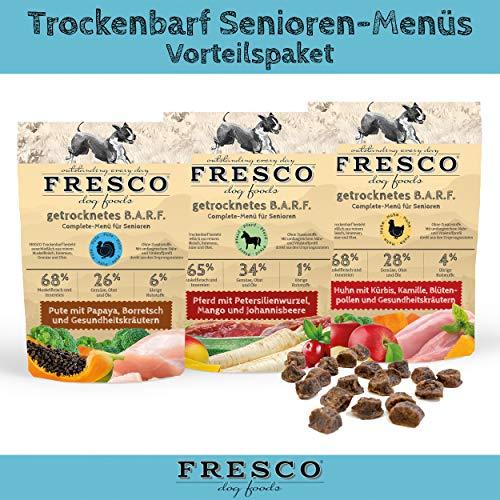 Fresco Dog Trockenbarf Senioren-Menüs Vorteilspaket