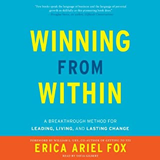 Winning from Within audiobook cover art