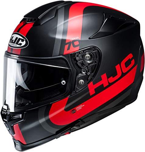 Casco moto HJC RPHA 70 GAON MC1SF, Nero/Grigio/Rosso, S