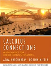 Calculus Connections (Prentice Hall Series in Mathematics for Middle School Teachers)