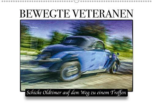 Bewegte Veteranen (Wandkalender 2021 DIN A2 quer)
